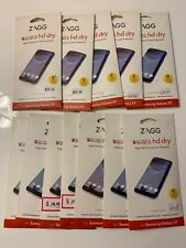 ZAGG Invisible HD Dry Screen Protector for Samsung Galaxy S7 Edge - Clear