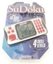 Excalibur Electronic Sudoku Handheld Pocket Portable Travel Game 452-2K-CS