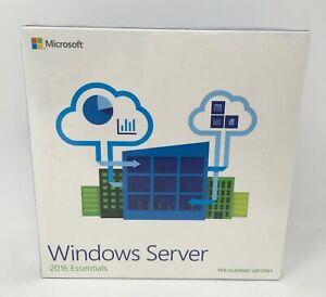 Microsoft Windows Server 2016 Essentials DVD 64-Bit EN Academic Edition *NEW*