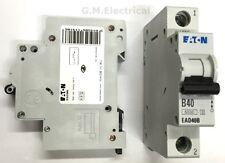 EATON 40 AMP TYPE B 40A MCB BREAKER MEMSHIELD 3 EAD40B / EMBH140 MOELLER XPOLE