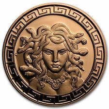 1 oz Copper Round - Medusa