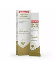 SUDOSALVE Nappy Rash Treatment Heal & Soothe antiseptic antibacterial 25g