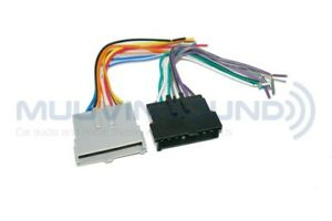 Radio Wiring Wire Harness for Aftermarket Radio Stereo Installation RAP-FD-5000