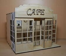 CAFE Doll House Room Box for Dolls 1:12 Scale Nice handmade miniature Diorama