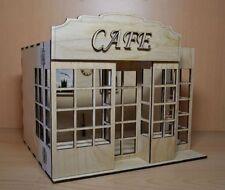 CAFE Doll House Room Box for Dolls 1:12 Scale Nice handmade miniature Diorama