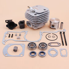 48mm Cylinder Piston Crank Bearing Kit For Jonsered 630 625 Saw Gaskets Oil Seal