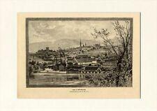 Steyr in Oberösterreich Statutarstadt Enns Ybbstaler Alpen Holzstich GL 143