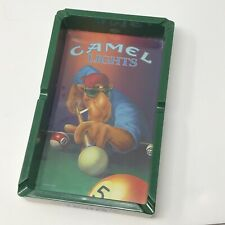 New listing Vintage Joe Cool Camel Lights 1992 Cigarette Ash Tray Pool Table Billiards