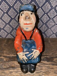 "Antique Doorstop ""Carpenter"" Alice In Wonderland Series, Full Figure, Exc. Cond."