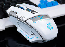 Rechargeable - 2.4GHz Cordless 2400DPI 6 Buttons Usb Ergonomic Gaming Mouse Mice
