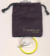Bracelet With Tag & Bag Alex & Ani Yellow Beaded