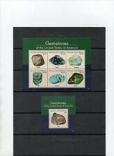 Antigua and Barbuda, two sheets block Gemstones of America. mnh.