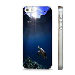 SEA TURTLE IN THE OCEAN STUNNING PHONE CASE COVER FITS All APPLE IPHONE MODELS