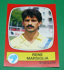 N°295 RENE MARSIGLIA SPORTING CLUB TOULON PANINI FOOTBALL 87 1986-1987