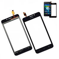 TOUCH SCREEN PER HUAWEI ASCEND Y635 NERO BLACK VETRO DISPLAY SCHERMO RICAMBIO