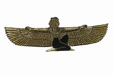 #5083B Gold,Black Temple of Isis,Isis,Egypt Embroidery Iron On Applique Patch