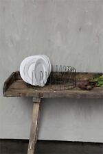 Farmhouse Full Circle Metal Plate Rack - Rae Dunn Display- Country - Primitive