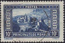 Monaco 1933 10f The Princes Residence sg 141 used