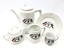 More details for ww1 imperial german navy kreigsmarine part porcelain coffee service