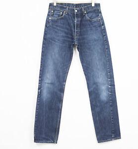 Levis 501 Jean Standard Droit Taille Hommes W34 L36