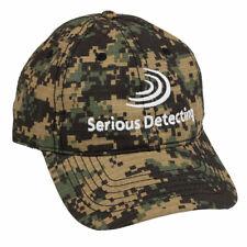 Serious Detecting Camo Cap for Metal Detecting
