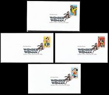 US 5149-5152 Wonder Woman DCP (set of 4) FDC 2016