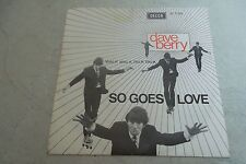 DAVE BERRY SO GOES LOVE  DUTCH 1965
