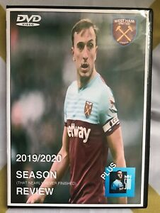 WEST HAM UNITED, 2019/20 SEASON REVIEW DVD, THE YEAR THAT NEARLY NEVER FINISHED