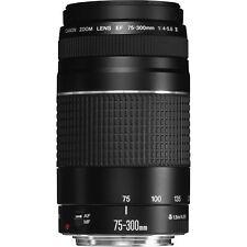 Objektiv Canon EF 75-300 mm F/4.0-5.6 III für EOS 750D 760D 70D 80D etc.