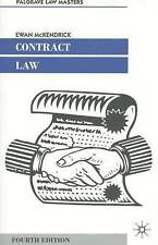 CONTRACT LAW 4th edition By Professor Ewan McKendrick (University of Oxford)