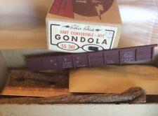 Vintage Silver Streak NEW YORK CENTRAL GONDOLA SS501 Wood Craftsmen Kit