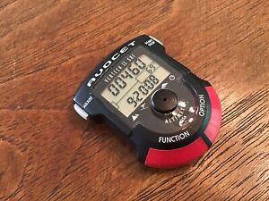Vtg Avocet Vertech II Ski Alpine Altimeter Watch Digital USA New Battery Works