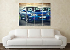 Large Subaru Impreza WRX STI Wall Poster Art Picture Print