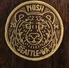 Phish Seattle Key Arena Patch Fall Tour 10/18/2014 Poster Print Welker Magnet