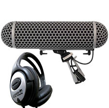 Rode BLIMP Korbwindschutzsystem Fellwindschutz  + Keepdrum Kopfhörer