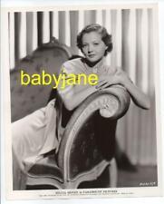 SYLVIA SIDNEY ORIGINAL 8X10 PHOTO LOVELY PORTRAIT 1934 PARAMOUNT PICTURES
