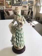 "SUPERB 10 1/2"" Giuseppe Armani #0297C LITTLE BUTTERFLY LADY Figurine MINT!!"