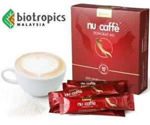 NU CAFFE Biotropics - Premium Tongkat Ali Coffee (15 Sachets)