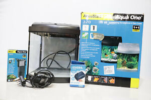 Aqua Start 320 Starter Fish Tank Aquarium Internal Lighting, Internal Filter-208