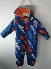 Hatley baby boy snowsuit 12-18 months great condition