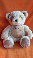 "Debenhams JOHN ROCHA Beige TEDDY BEAR soft toy 10""  seated Plush Toy Tommys"