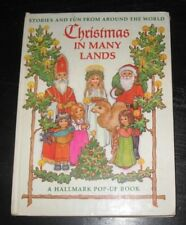 A Hallmark POP-UP BOOK Christmas In Many Lands by Barbara Bartocci
