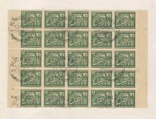Germany: Scott B24, big block 25 special cancellation very good condition. GE009