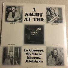 SEALED LP Vinyl RECORD Night The Lido St. Clair Shores Michigan JAZZ Button Box