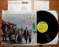 Kozlovsky - Songs of old Russia - USA Monitor MFS 560 + russian Text + Postcard
