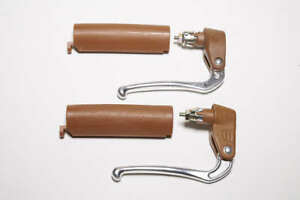 Diacompe bar end reverse brake levers with matching grip