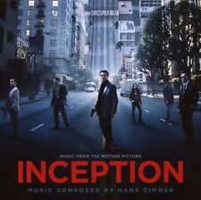 INCEPTION CD ORIGINAL SOUNDTRACK NEW
