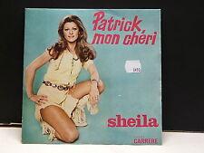 SHEILA Patrick, mon chéri 49.213