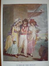 A Son of the ocean 1898 sailor print colour