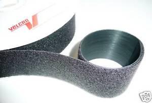 VELCRO STRAP CABLE TIE HOOK & LOOP 50mm WIDE 1m LENGTHS *GENUINE VELCRO*